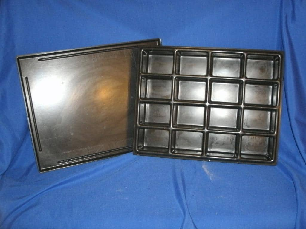 16-Rectangular Cavity Tray